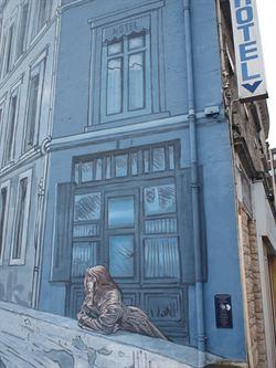 法國山城安古蘭 創作處處見