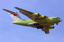 運-20首飛1週年 央視播試飛全程