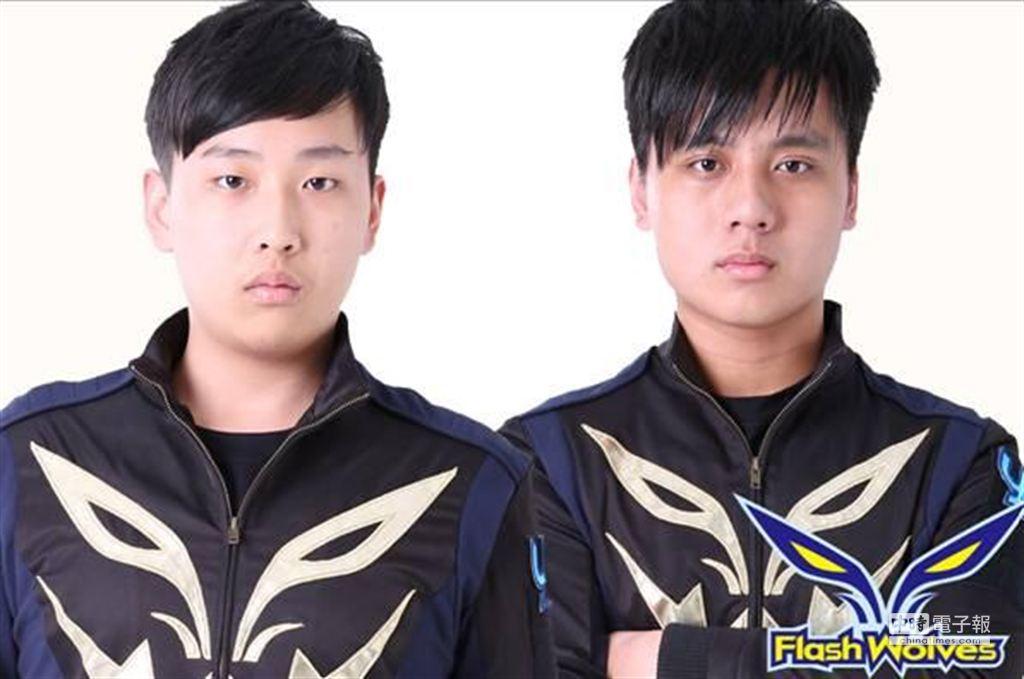新秀閃電狼電競戰隊選手Maooo(陳冠廷)(左)、Maple(黃熠棠)(右)皆未滿17歲,表現出色已參與過Season3與2013WCG等賽事。(《英雄聯盟狂歡節》提供)