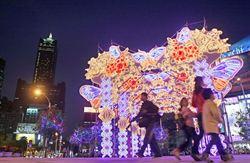 高雄燈會藝術節 結合商圈佈設主題花燈