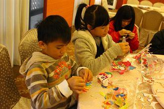 新竹福泰飯店 邀貧困兒童滾元宵提前過節