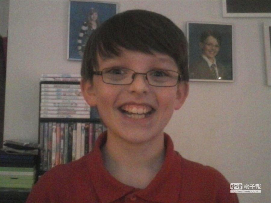 柯林即將在3月9日過11歲生日。(摘自Happy Birthday Colin臉書網頁)