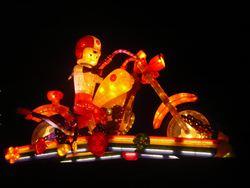 大同寶寶哈雷騎士 台灣燈會亮相