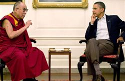 歐巴馬今晚在白宮會見達賴喇嘛