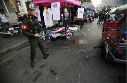 曼谷反政府集會爆炸 24傷