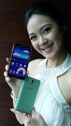 三星推Note 3 Neo手機 支援4G全頻