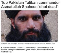 巴國塔里班首腦被擊斃 殺手不明