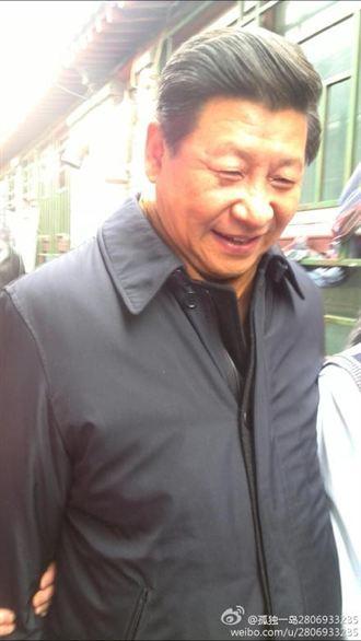 北京雨兒胡同居民激動 習近平到訪