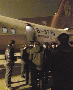 新舟60客機故障頻傳 昨晚起落架又故障