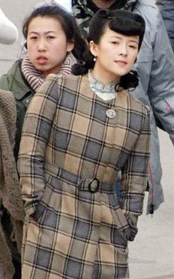 「太平輪」上海取鏡 章子怡造型曝光