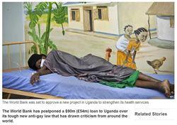 防烏干達打擊同志 世銀延撥貸款