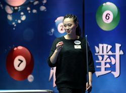 安麗盃花式撞球賽 台灣9人進複賽