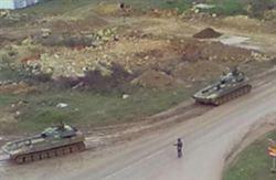 CNN播出俄戰車 在烏國移動畫面