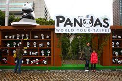 紙貓熊展 228連假75萬人參觀