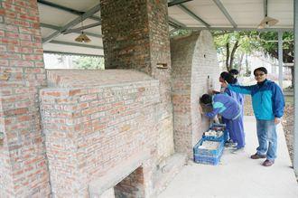 偏鄉教學生力軍 大坡國中設柴燒窯