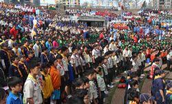 台中3千名童軍齊聚 慶祝童軍節