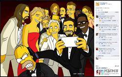 KUSO奧斯卡自拍照 18小時破百萬人按讚