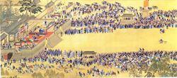 《康熙南巡圖》殘卷在法拍出天價