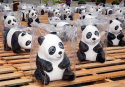 貓熊超吸睛 百萬人看過市府前貓熊展