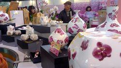 台灣國際蘭展 周邊商品搶手