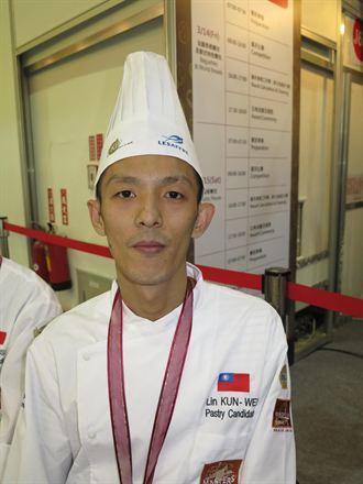 麵包師出頭天 林坤緯世界賽得季軍