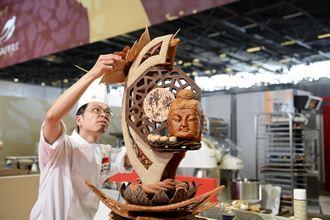 黃威勳藝術麵包賽得獎 日本隊喊讚