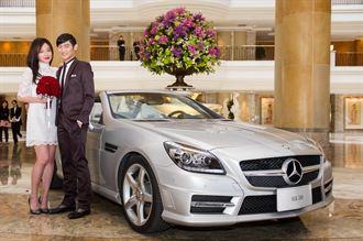 Mercedes-Benz夢幻車隊 飯店浪漫登場