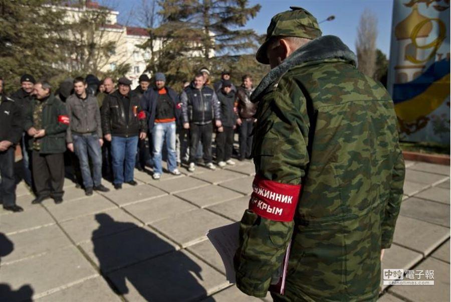 圖為烏克蘭大兵。(美聯社)
