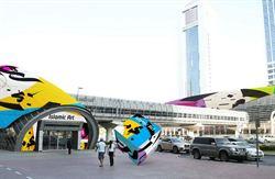 杜拜地鐵 搖身變成主題美術館