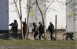 克里米亞自衛隊 占領烏海軍總部