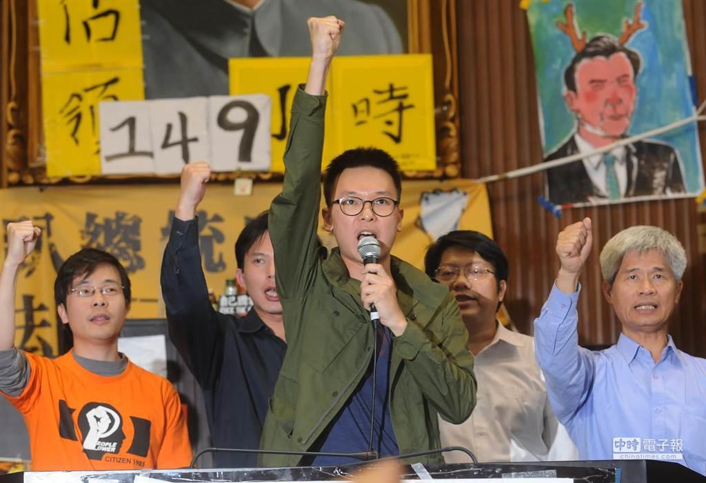 網友討論,為何現在民進黨施政亂搞,卻不會發生大規模學運。突圍2014年318學運(中時資料照)