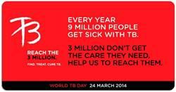 全球300萬結核病患 被忽略