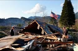 美華盛頓州土石流 108人下落不明