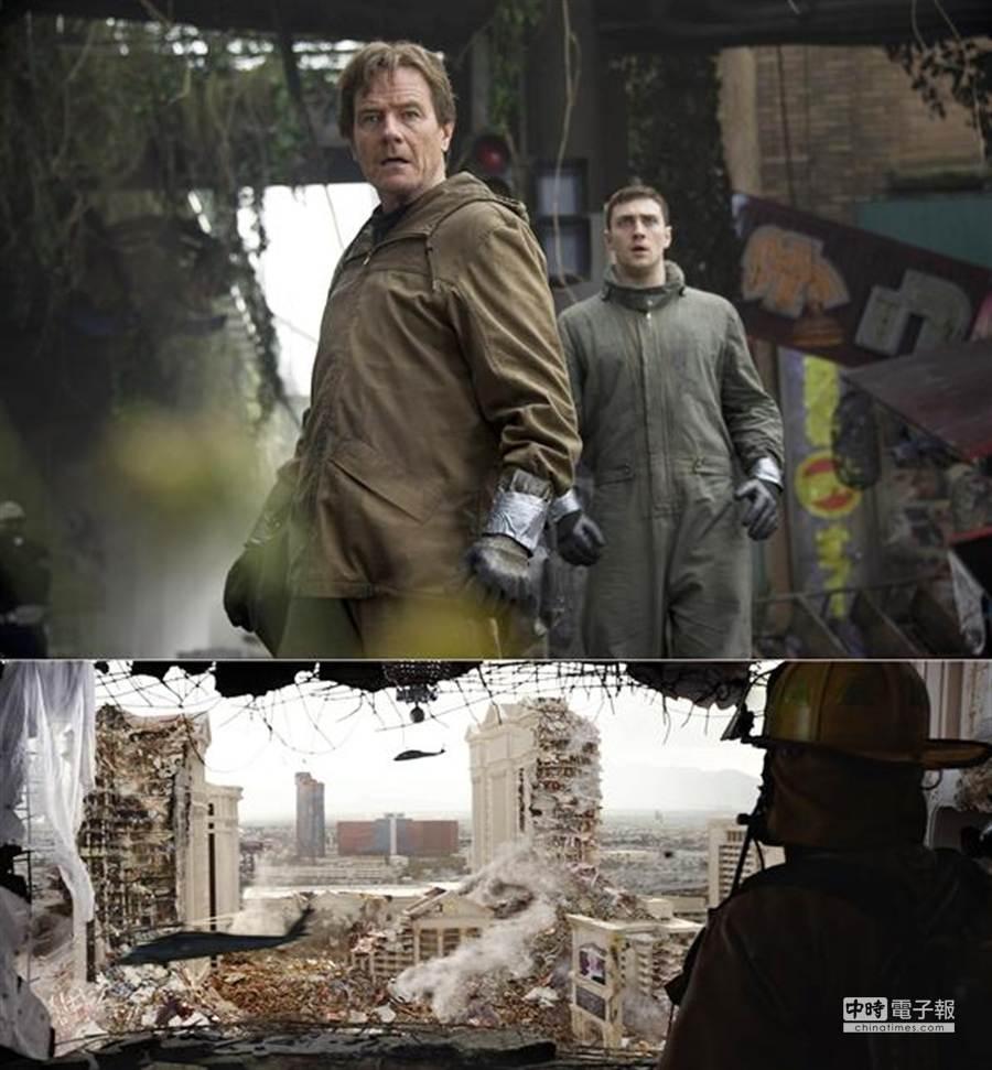 《哥吉拉》今(25)日釋出最新的毀滅篇預告片,令觀眾期待。(圖/華納兄弟提供)