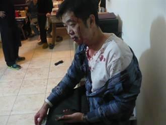 毒販砸酒瓶拒捕 警血流滿面