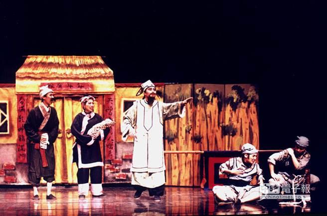 2014新竹縣兒童戲劇節將自本周末起登場,其中,九歌兒童劇團將帶來經典大戲「城隍爺傳奇」。(九歌提供)
