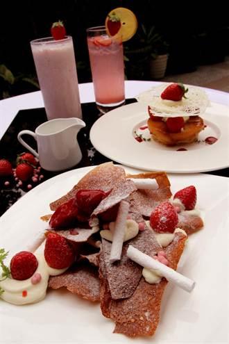 春天的滋味 台北花園酒店推草莓甜點