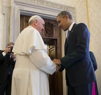 歐巴馬會教宗 政敵:趁機告解啦