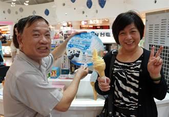 台鹽推「雪花鹽」系列霜淇淋
