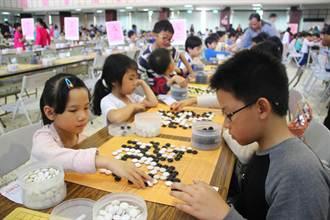 同濟盃圍棋公開賽751名小棋手較勁