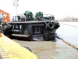 中油駁油船漏油 遭罰50萬元