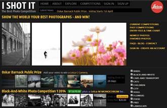 徠卡「奧斯卡‧巴納克國際攝影大賽」網路票選活動開跑