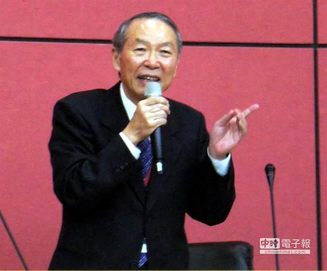 成大校長黃煌煇續任南科產學協會理事長。圖文/陳惠珍