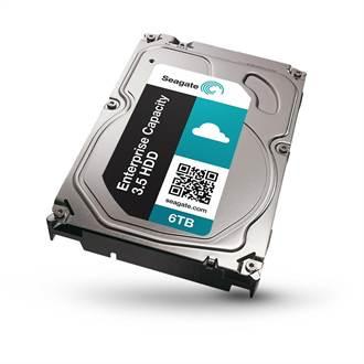 Seagate宣佈全球最快6TB硬碟開始出貨