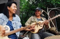 漂流木 打造手工吉他