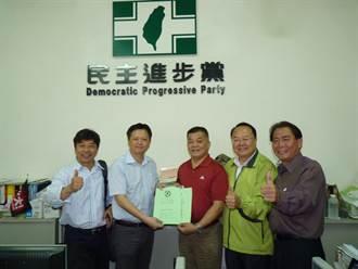 綠營中市主委改選 劉文欽領表獲3派勢力支持