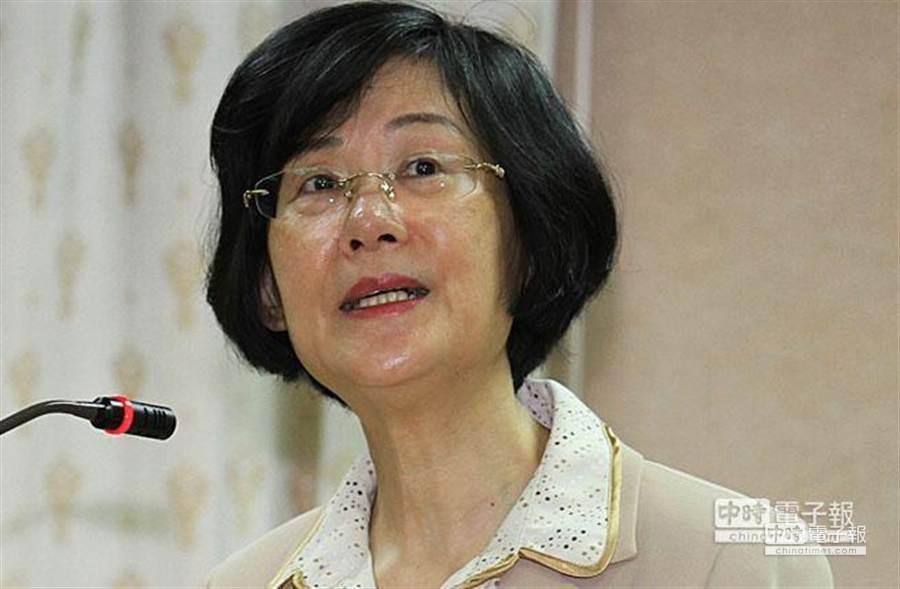 法務部長羅瑩雪:服貿協議尚未審查,也不一定會通過,因此「反服貿」無法構成公民不服從條件。(資料照片)