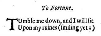笑臉符號最早出現在17世紀的詩歌中!?