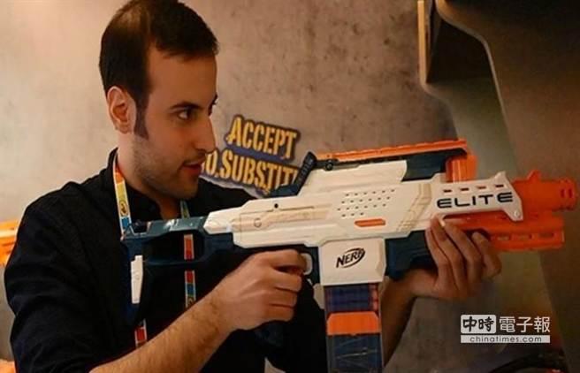 NERF Cam ECS-12玩具槍。(取材自騰訊科技網)