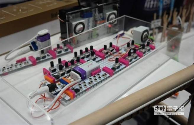 LittleBits Synth Kit。(取材自騰訊科技網)
